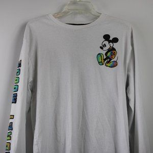 Vintage Mickey Mouse Long Sleeve Graphic Tee